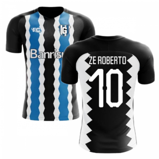 2018-2019 Gremio Fans Culture Home Concept Shirt (Ze Roberto 10) - Baby