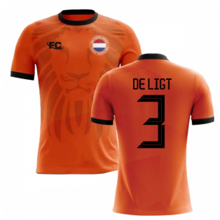 2018-2019 Holland Fans Culture Home Concept Shirt (DE LIGT 3)