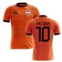 2018-2019 Holland Fans Culture Home Concept Shirt (SNEIJDER 10)