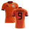 2018-2019 Holland Fans Culture Home Concept Shirt (VAN BASTEN 9)