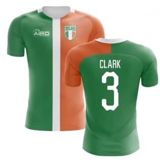 2018-2019 Ireland Flag Concept Football Shirt (Clark 3) - Kids