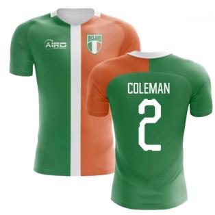 2018-2019 Ireland Flag Concept Football Shirt (Coleman 2)
