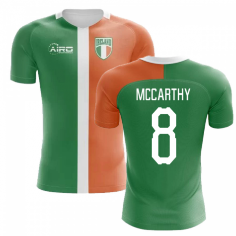 2020-2021 Ireland Flag Concept Football Shirt (McCarthy 8)