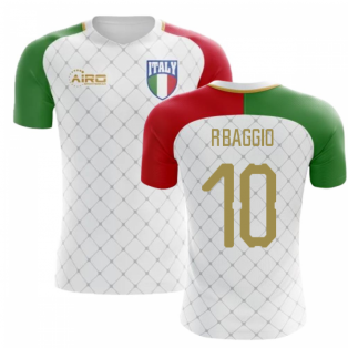 2018-2019 Italy Away Concept Football Shirt (R.Baggio 10)