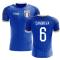 2020-2021 Italy Home Concept Football Shirt (Candreva 6)