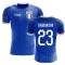 2018-2019 Italy Home Concept Football Shirt (Gabbiadini 23)