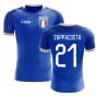 2018-2019 Italy Home Concept Football Shirt (Zappacosta 21)