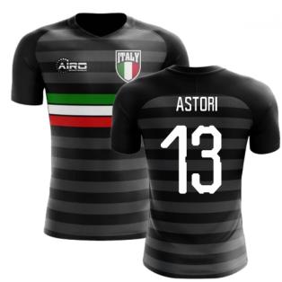 2018-2019 Italy Third Concept Football Shirt (Astori 13)