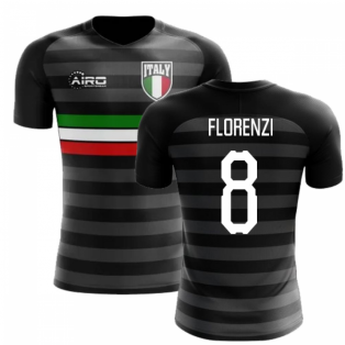 2018-2019 Italy Third Concept Football Shirt (Florenzi 8)