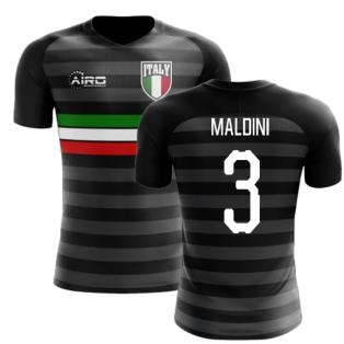 2018-2019 Italy Third Concept Football Shirt (Maldini 3)