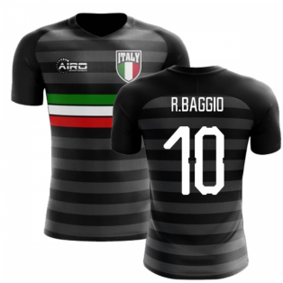 2018-2019 Italy Third Concept Football Shirt (R.Baggio 10)