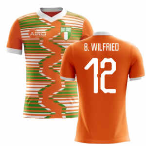 2020-2021 Ivory Coast Home Concept Football Shirt (B. Wilfried 12)