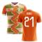2018-2019 Ivory Coast Home Concept Football Shirt (Eboue 21)