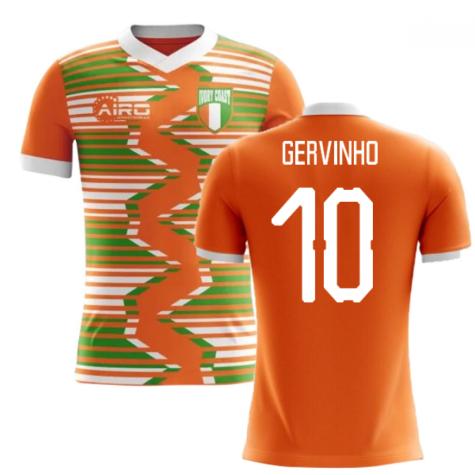 2018-2019 Ivory Coast Home Concept Football Shirt (Gervinho 10)