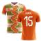 2018-2019 Ivory Coast Home Concept Football Shirt (Gradel 15)