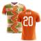 2020-2021 Ivory Coast Home Concept Football Shirt (Kessie 20)