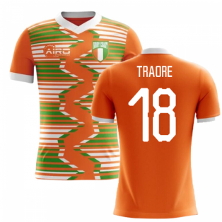2018-2019 Ivory Coast Home Concept Football Shirt (Traore 18)