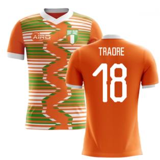 2020-2021 Ivory Coast Home Concept Football Shirt (Traore 18)