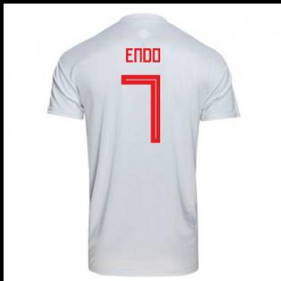 2018-2019 Japan Away Adidas Football Shirt (Endo 7)
