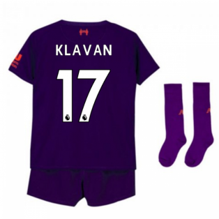 2018-2019 Liverpool Away Little Boys Mini Kit (Klavan 17)