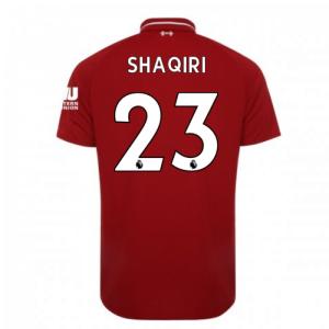 2018-2019 Liverpool Home Football Shirt (Shaqiri 23)
