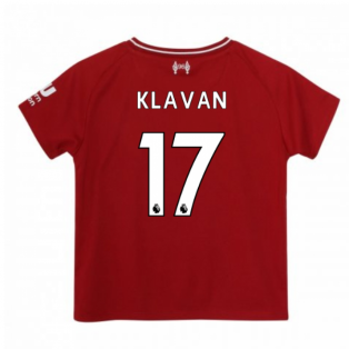 2018-2019 Liverpool Home Little Boys Mini Kit (Klavan 17)