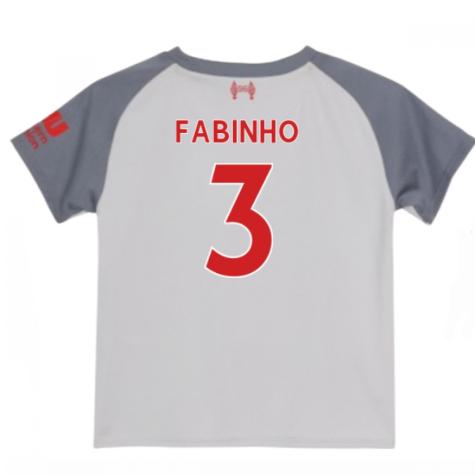 2018-2019 Liverpool Third Baby Kit (Fabinho 3)