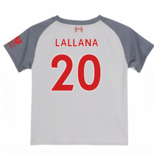 2018-2019 Liverpool Third Baby Kit (Lallana 20)