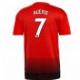 2018-2019 Man Utd Adidas Home Football Shirt (Alexis 7)