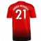2018-2019 Man Utd Adidas Home Football Shirt (Ander Herrera 21)