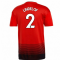 2018-2019 Man Utd Adidas Home Football Shirt (Lindelof 2)