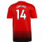2018-2019 Man Utd Adidas Home Football Shirt (Lingard 14)