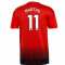 2018-2019 Man Utd Adidas Home Football Shirt (Martial 11)