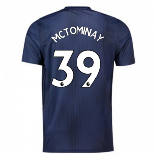 2018-2019 Man Utd Adidas Third Football Shirt (McTominay 39)