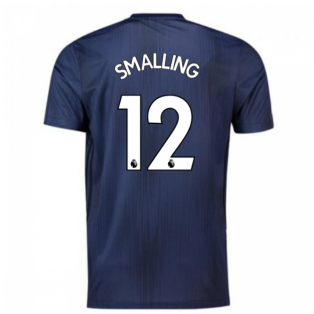 2018-2019 Man Utd Adidas Third Football Shirt (Smalling 12)