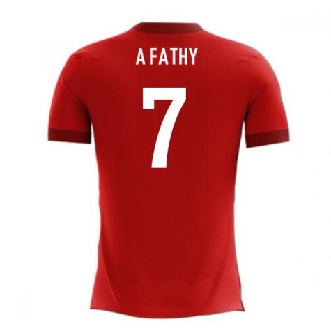 2018-2019 Egypt Airo Concept Home Shirt (A Fathy 7)