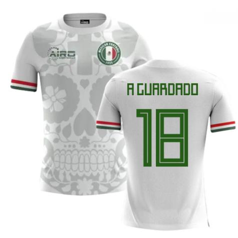 2020-2021 Mexico Away Concept Football Shirt (A Guardado 18)