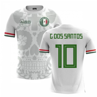 2018-2019 Mexico Away Concept Football Shirt (G Dos Santos 10)
