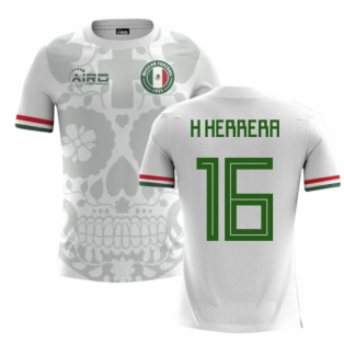 2020-2021 Mexico Away Concept Football Shirt (H Herrera 16)