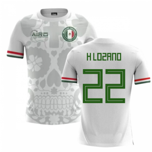 2018-2019 Mexico Away Concept Football Shirt (H Lozano 22)