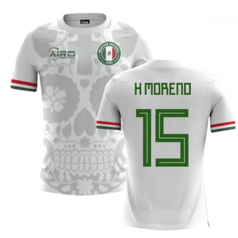 2018-2019 Mexico Away Concept Football Shirt (H Moreno 15)