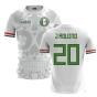 2020-2021 Mexico Away Concept Football Shirt (J Aquino 20)