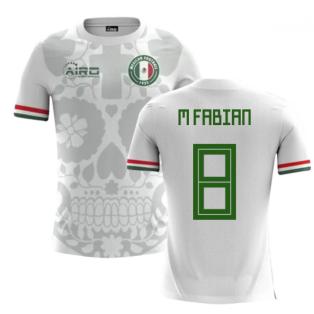 2018-2019 Mexico Away Concept Football Shirt (M Fabian 8)