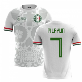 2018-2019 Mexico Away Concept Football Shirt (M Layun 7)