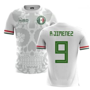 2020-2021 Mexico Away Concept Football Shirt (R Jimenez 9)