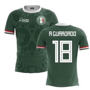 2020-2021 Mexico Home Concept Football Shirt (A Guardado 18)