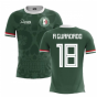 2018-2019 Mexico Home Concept Football Shirt (A Guardado 18)