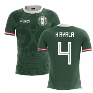 2018-2019 Mexico Home Concept Football Shirt (H Ayala 4)