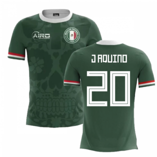 2020-2021 Mexico Home Concept Football Shirt (J Aquino 20)