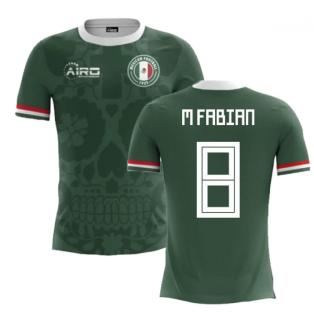 2018-2019 Mexico Home Concept Football Shirt (M Fabian 8)